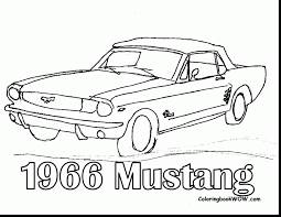 amazing ford mustang coloring pages printable with mustang
