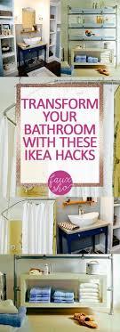 ikea runnen hack transform your bathroom with these ikea hacks