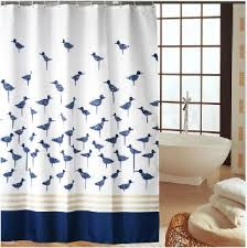 Kids Bathroom Hooks - buy white and navy hotel kids bathroom fabric bath shower curtain