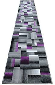 Purple And Grey Area Rugs Amazon Com Masada Rugs Modern Contemporary Runner Area Rug
