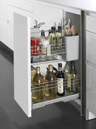 pull out kitchen storage ideas cooking oil salt pepper or even cleaning supplies the pull out