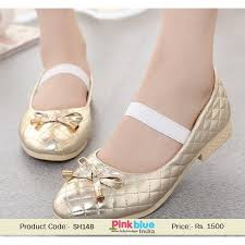 wedding shoes india buy designer golden wedding shoes for baby princess