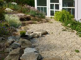 types of landscaping rock with gravel decorative garden trends