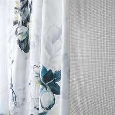 Turquoise And Grey Shower Curtain Threshold Grey And White Floral Shower Curtain