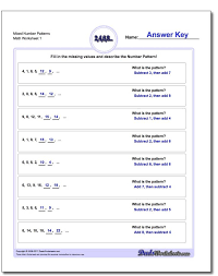 the 25 best number patterns worksheets ideas on pinterest