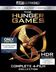the hunger games collection 4k ultra hd blu ray blu ray best buy