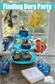 finding dory crafts u0026 party ideas modern family