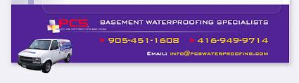 Basement Waterproofing Specialists - pcs basement u0026 waterproofing specialists serving toronto
