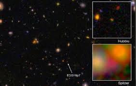 imagenes universo estelar nuevo récord de galaxia más lejana del universo ciencia el país