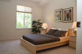 Malm Bed Frame Modern Guest Bedroom With Concrete Floors In San Jose Ca Zillow
