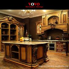 luxurious kitchen cabinets american style luxury kitchen cabinets solid wood in matte cherry