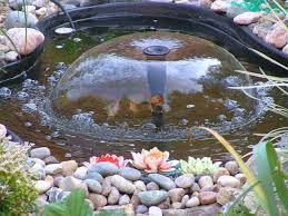 Small Water Ponds Backyard Water Fountains Front Yard And Backyard Designs