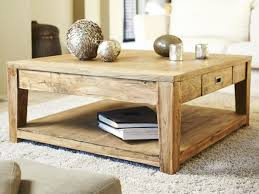 Relooker Une Table Table Basse Carree Teck Recycle 100cm U2013 Phaichi Com