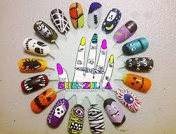 halloween nail art inspiration to show your spooky side 36