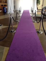 purple aisle runner atlanta rental purple aisle runner purple aisle carpet