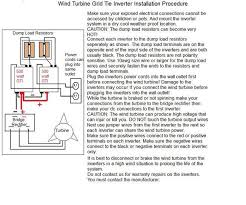 grid tie inverter wind turbine diagram missouri wind and solar