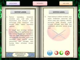 membuat use case skenario kuesioner skenario use case al quran online berbasis web ppt