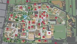 Mesa College Map Campus Map Unm Online Visitor U0027s Guide