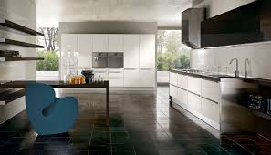 contemporary kitchen glass lacquered integra pedini