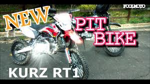 road legal motocross bike new road legal pit bike kurz rt1 enduro youtube