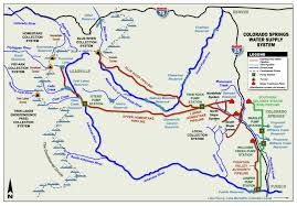 Map Of Colorado River by Water U2022 Sense Of Place Colorado College