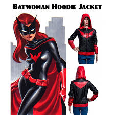 Kane Halloween Costume Batwoman Hoodie Katherine Kane Leather Jacket Filmsjackets