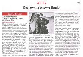 american ulysses featured in the week ronald c white