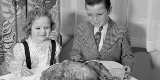 7 vintage thanksgiving pics remind you of before smart phones