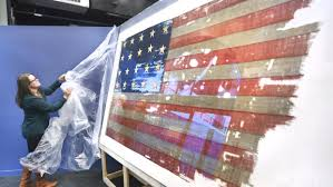 Veterans Flag Depot Ready For Inspection Public Unveiling Of Redesigned Veterans