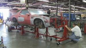Auto Shop Plans Auto Rotisserie Here U0027s One Way To Mount Your Car On The