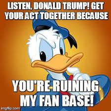 Donald Meme - donald duck meme imgflip