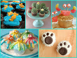easy cupcake decorating ideas for kids birthday home design