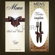 menu design for restaurant or cafe vintage template royalty free