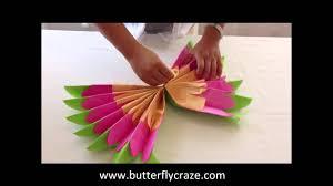 diy room decorations tissue paper pompoms origami