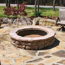 Outdoor Gas Fire Pit Kits by The 25 Best Stone Fire Pit Kit Ideas On Pinterest Outdoor Fire