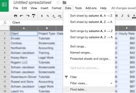 Sort A Pivot Table How To Use Pivot Tables In Google Sheets Ultimate Guide