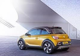 Rugged Design The Motoring World Vauxhall Opel Adam Rocks Geneva With New