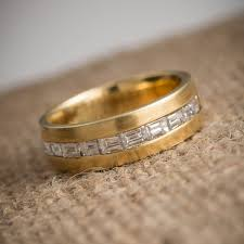 vintage wedding bands for wedding rings gold with diamond vintage style wedding rings for