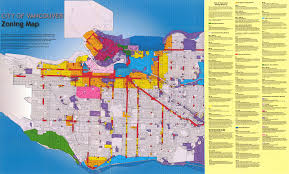 World Map British Columbia by Zoning Map City Of Vancouver British Columbia City Of