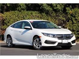 lease a honda civic 2017 honda civic lx lease studio city california 149 00 per