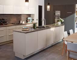 meuble de cuisine en verre meuble de cuisine artic blanc mat castorama