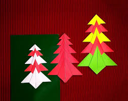 easy origami tree paper tree card