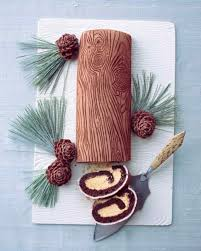 christmas cake decorations that will dazzle and delight yule log