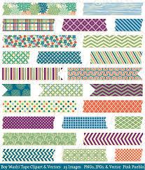 washi tape boy washi tape clip art vectors graphics creative market