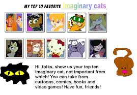 Cartoon Cat Memes - my top 10 imaginary cats meme by bbangel17 on deviantart