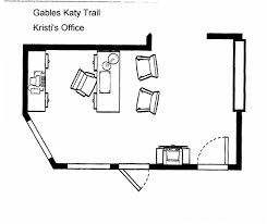 manager u0027s office layout gables katy trail pinterest house