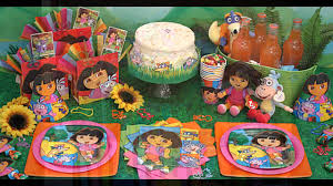 Decorations At Home by Dora Birthday Party Decorations At Home Ideas Youtube