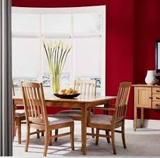 dining room paint colors red wall colors with large windows and