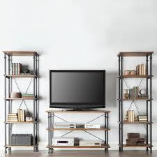 homesullivan grove place 4 shelf bookcase in rustic pine 403228 12