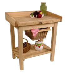 john boos white house table cart with butcher block top u0026 riser at